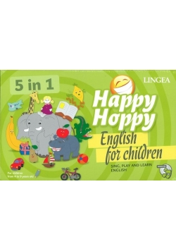 Happy Hoppy English for children 5w1 Gry i zabawy z angielskim