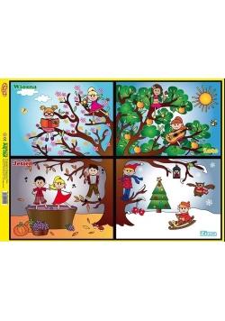 Puzzle - Pory roku