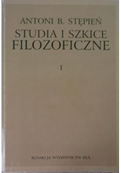 Studia i szkice filozoficzne I