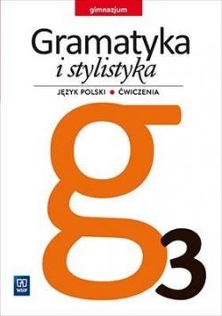 J.Polski GIM  3 Gramatyka i stylistyka ćw. WSiP
