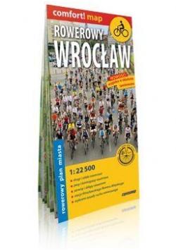 Comfort!map Rowerowy Wrocław 1:22 500 plan miasta