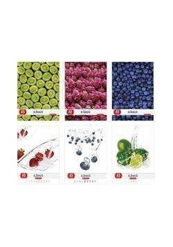 Zeszyt A5/80K linia Fresh Fruit (5szt)