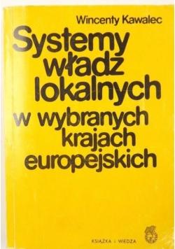 Systemy władz lokalnych w wybranych krajach europejskich