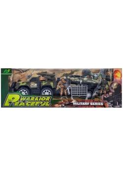 Militarny zestaw jeep