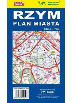 Rzym 1:17 000 Plan miasta PIĘTKA