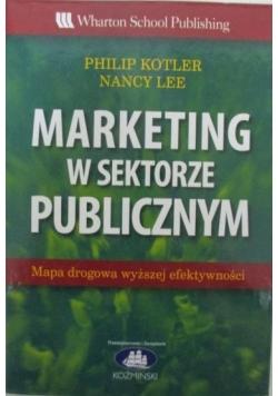 Marketing w sektorze publicznym