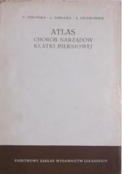 Atlas chorób narządów klatki piersiowej