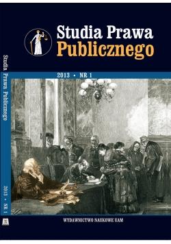 Studia Prawa Publicznego