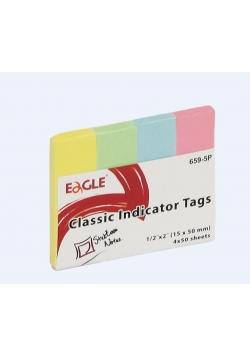 Notes samoprzylepny 15x50 zakładka 659-5P EAGLE