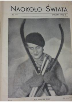 Naokoło Świata Nr. 93 - Nr. 104, 1932 r.