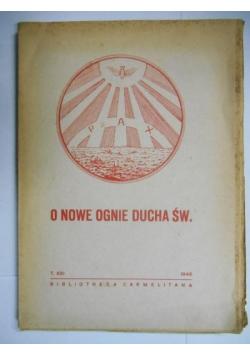 O nowe ognie Ducha Św., 1946 r.
