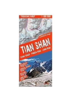 Trekking map Tian Shan 1:150 000 mapa