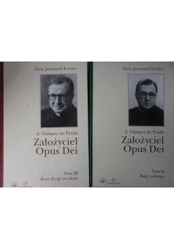 Założyciel Opus Dei. Życie Josemarii Escrivy. Tom II, III
