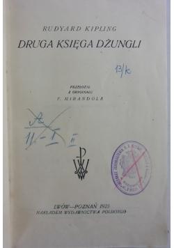 Bibljoteka Laureatów Nobla. Druga Księga Dżungli, 1923r