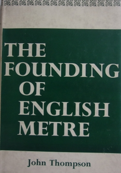The founding of english metre