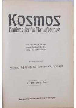 Kosmos . Handweiser fur Naturfreunde, 1924 r.