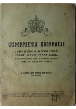 Wspomnienia koronacji, 1937 r.