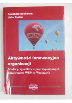 Aktywność innowacyjna organizacji