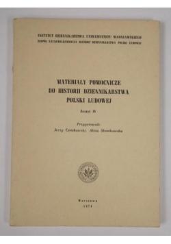 Materiały pomocnicze do historii dziennikarstwa Polski Ludowej. Z. 4