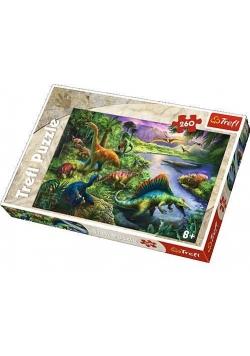 Puzzle 260 Dinozaury TREFL
