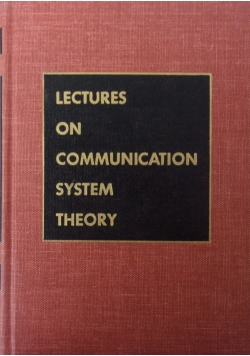 Lectures on communication system theory