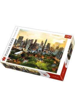 Puzzle 3000 Zachód Słońca w Bangkoku TREFL