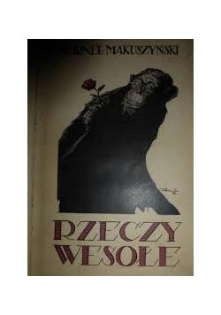 Rzeczy wesołe, 1922r