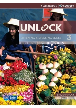 Unlock 3 Listening and Speaking Skills Student's Book with online workbook