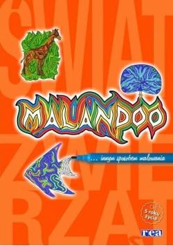Malandoo. Świat zwierząt (pomarańczowy)