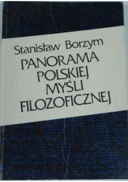 Panorama polskiej myśli filozoficznej