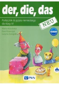 der die das neu 6 Podręcznik do języka niemieckiego + CD