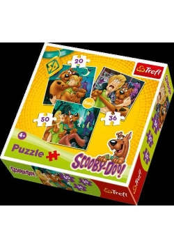 Puzzle 3w1 Scooby-Doo Uwaga! Duchy! TREFL