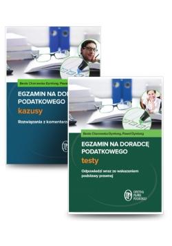 Egzamin na doradcę podatkowego Testy + Egzamin na doradcę podatkowego Kazusy