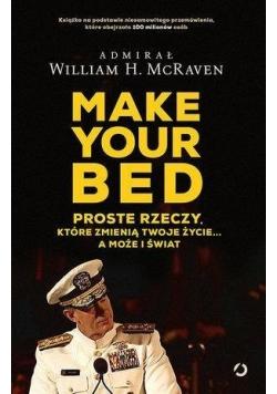 Make Your bed. Proste rzeczy, które zmienią...
