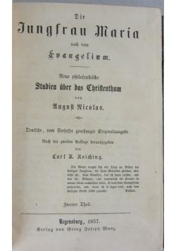 Jungfrau Maria, rok 1857