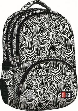 Plecak 4-komorowy Zebra