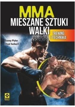 MMA. Mieszane sztuki walki. Trening i technika