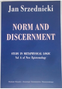 Norm and Discernment