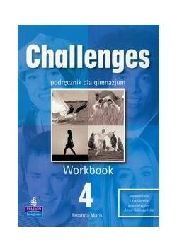 Challenges 4 Workbook: Gimnazjum