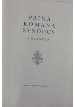 Prima romana synodus