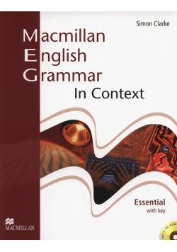Macmillan English Grammar in Context Essential with key + CD