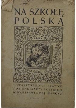 Na szkołę Polską