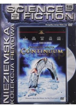 Science fiction Gwiezdne wrota Continuum, płyta DVD