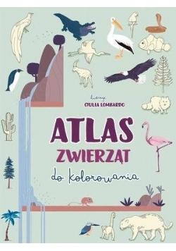 Atlas zwierząt do kolorowania