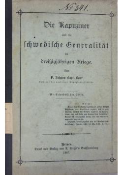 Die Kapusiner und die Schwedische Beneralitat, 1887 r.