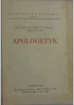 Apologetyk, 1947 r.