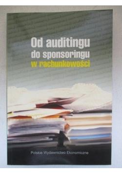 Od auditingu do sponsoringu w rachunkowości