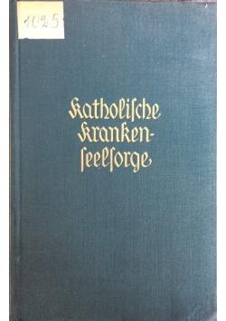 Katholische krankenseelorge, 1934 r.