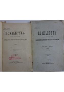 Homiletyka. Pismo miesięczne poświęcone kaznodziejstwu i życiu duchownemu. Zeszyt 1,2 i 5, 1900 r.