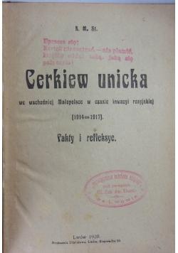 Cerkiew unicka, 1920r.